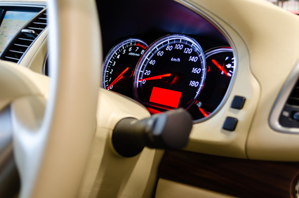 車の計器類