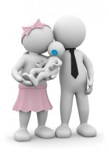 夫婦のCGイメージ